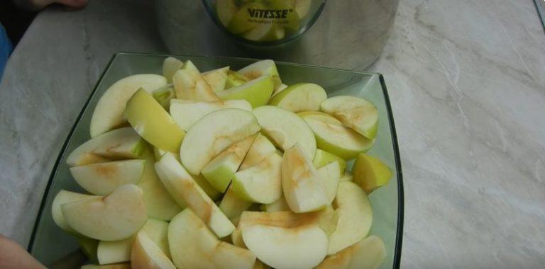 варенье с яблук дольками