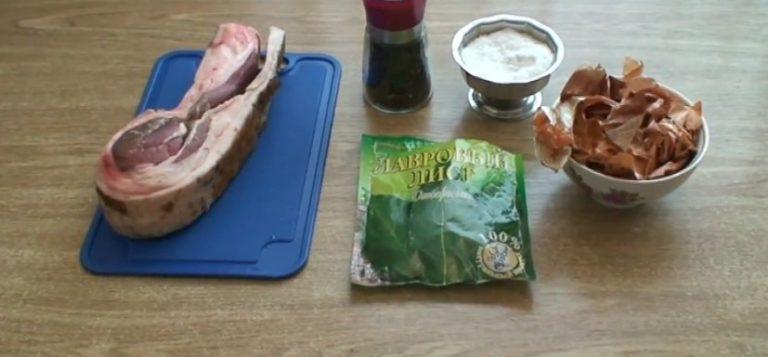 сало в луковой шелухе рецепты с фото пошагово вареное