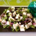 салат с вялеными помидорами рецепт