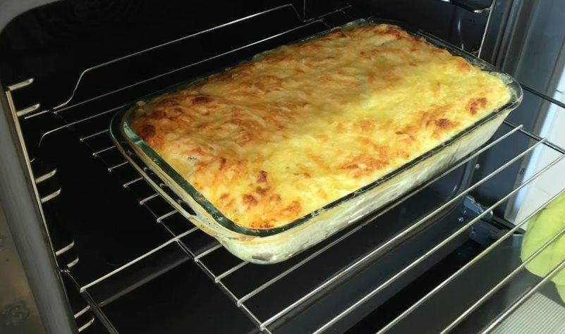 Запеканка картофельная с фаршем и грибами - вкусный рецепт