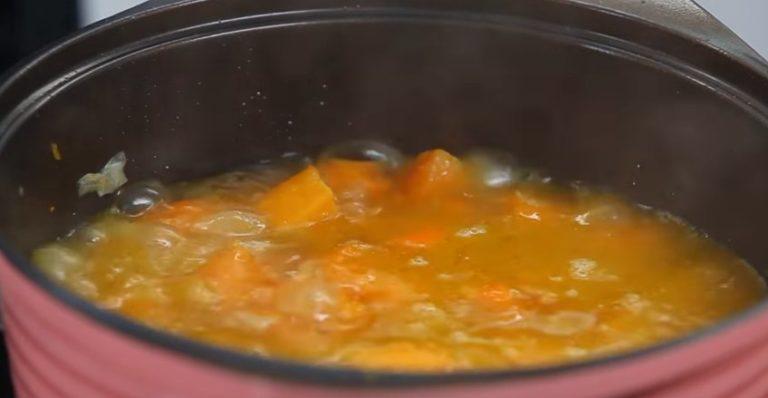 суп из тыквы рецепты быстро и вкусно пошаговый рецепт фото