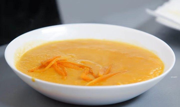 Суп из тыквы, быстро и вкусно, пошаговый рецепт