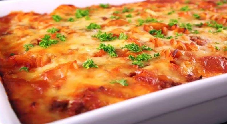 Рецепт лазаньи с фаршем с фото пошагово в домашних условиях