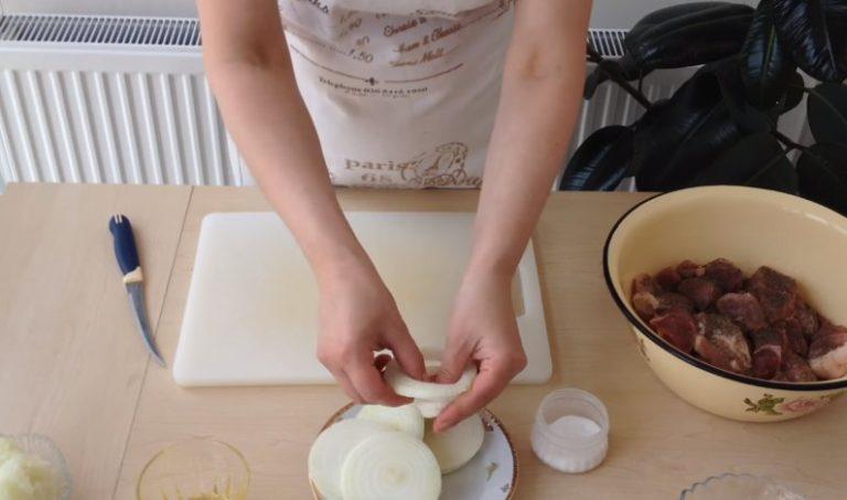 маринад для шашлыка из свинины с уксусом