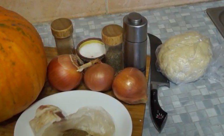 ингредиенты для мантов
