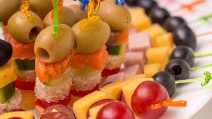 фото канапе на праздничный стол рецепты с фото