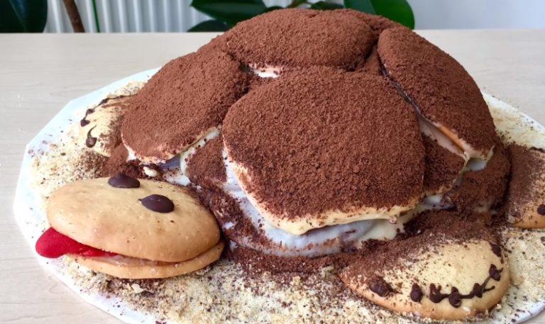 Торт черепаха - рецепт с фото пошагово в домашних условиях, со сметаной