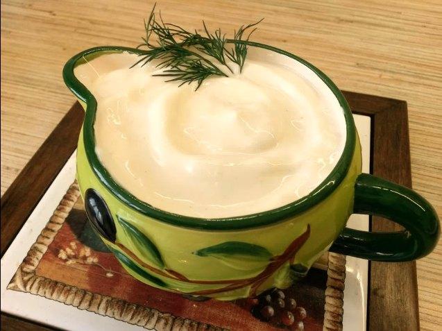 Майонез без яиц в домашних условиях - блендером, пошаговый рецепт