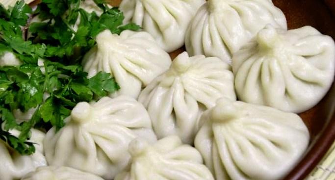 Хинкали с мясом - пошаговый рецепт с фото в домашних условиях