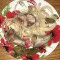 скумбрия маринованная с луком