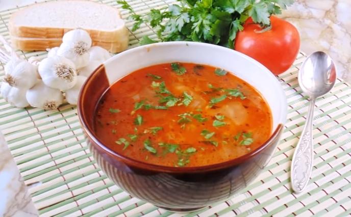 Суп харчо - рецепт приготовления в домашних условиях из курицы с рисом
