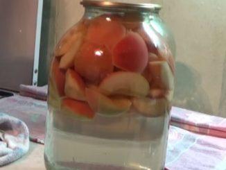 компот из яблок на зиму на 3 литровую банку рецепт