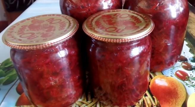 Вкусная борщевая приправа на зиму со свеклой и перцем - рецепт для любителей борща