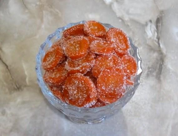 Превосходные цукаты из моркови в домашних условиях: рецепт с фото. Готовим вкусно!