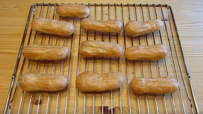 заварное тесто для эклеров рецепт пошагово с фото