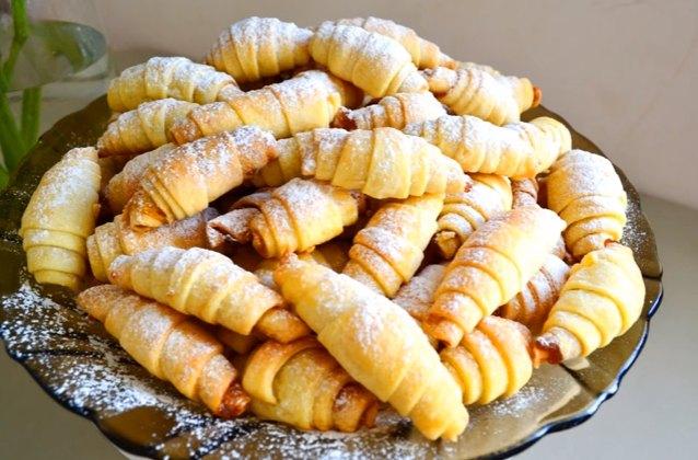 Рогалики на кефире - рецепты с фото, простые и вкусные