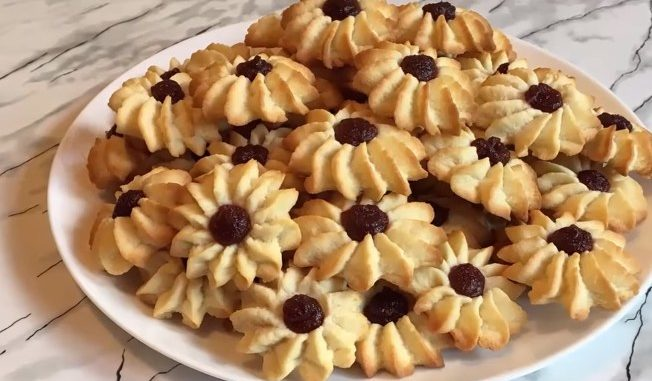рецепт печенья курабъе