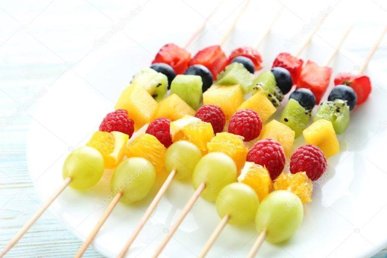 апетитные фрукты