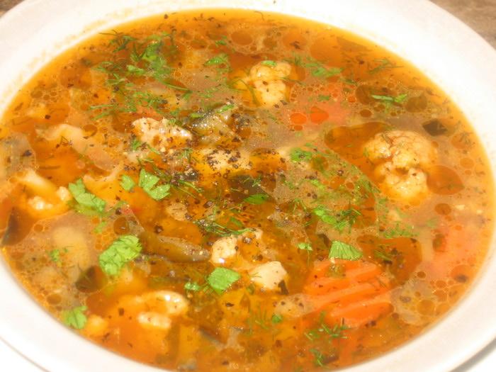 Полезный овощной суп | Рецепты первых блюд с фото - простые, вкусные и недорогие