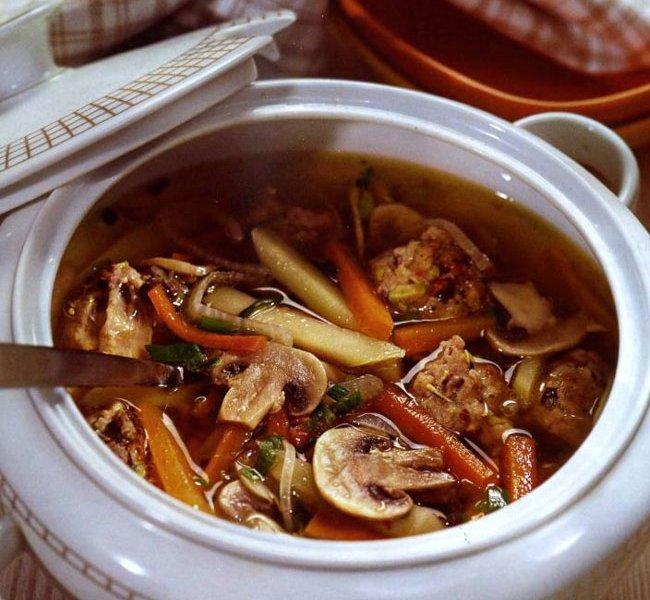 как приготовить суп с сухими грибами
