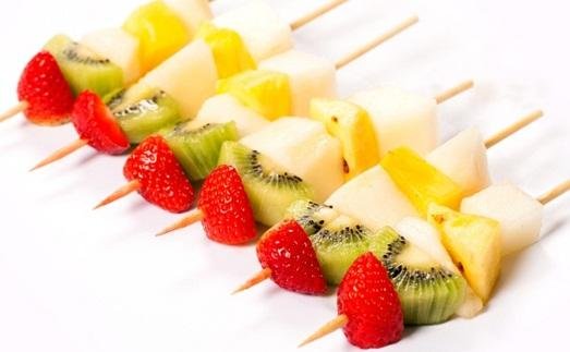 фруктовая шпажка с киви