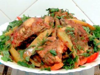 курица на сковороде рецепт с фото