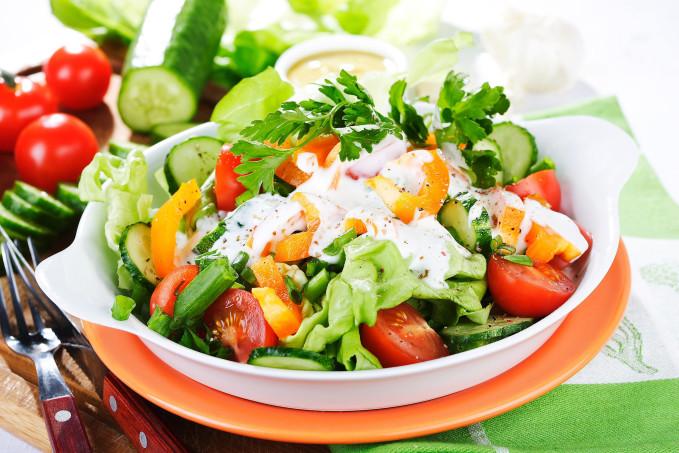 как приготовить вкусный легкий и простой салат