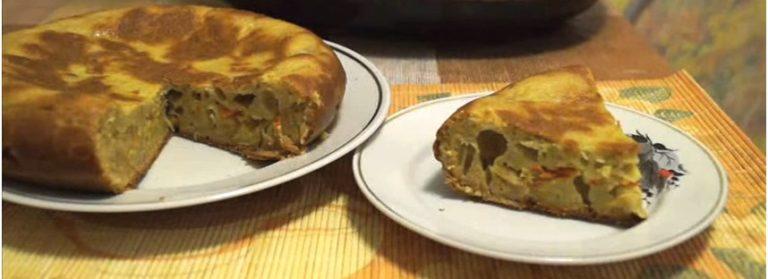 Ароматный капустный пирог в мультиварке с грибами и творогом - пошаговый рецепт с фото, просто и вкусно