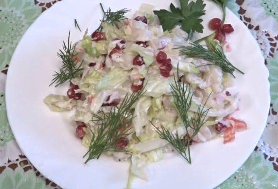 рецепты салатов с консервированными ананасами