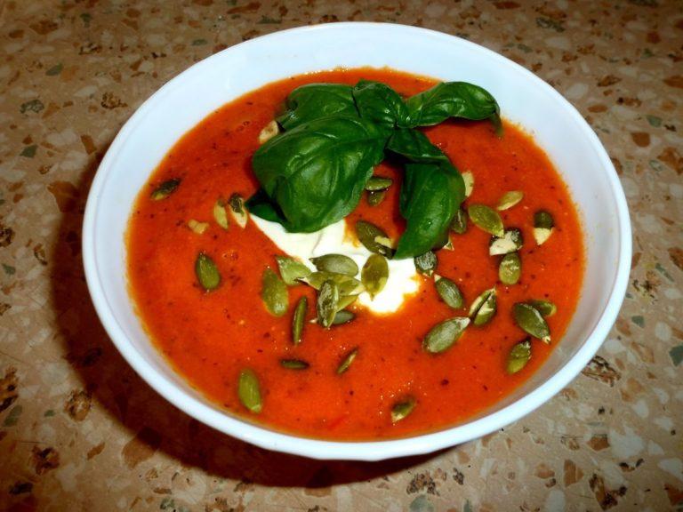 как готовить томатный крем суп