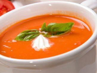 томатный суп-пюре классический рецепт с фото пошагово
