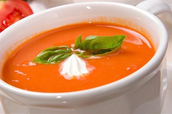 Томатный суп-пюре - классический рецепт с фото пошагово