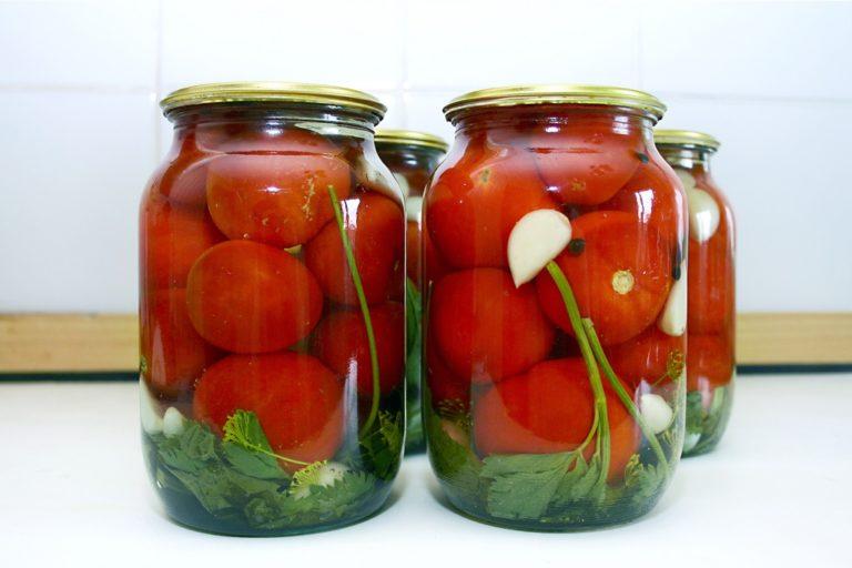 рецепт очень вкусных маринованных помидоров
