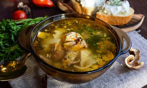 Грибной суп из сухих грибов - пошаговый рецепт с фото