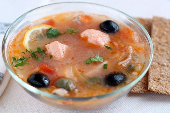 солянка рыбная классическая рецепт из осетра