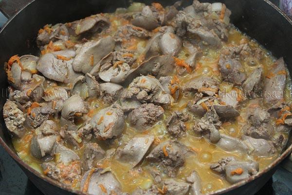 Печень рецепты приготовления со сметаной