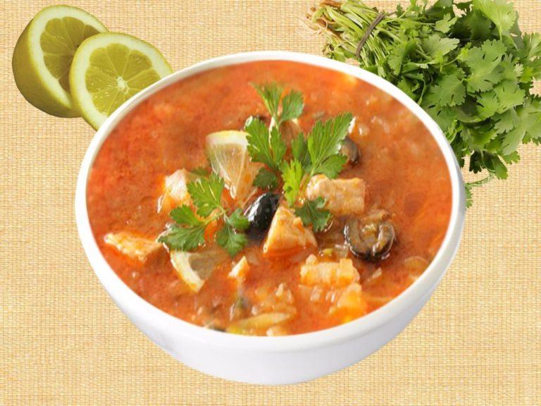 Солянка рыбная рецепт пошаговый с фото