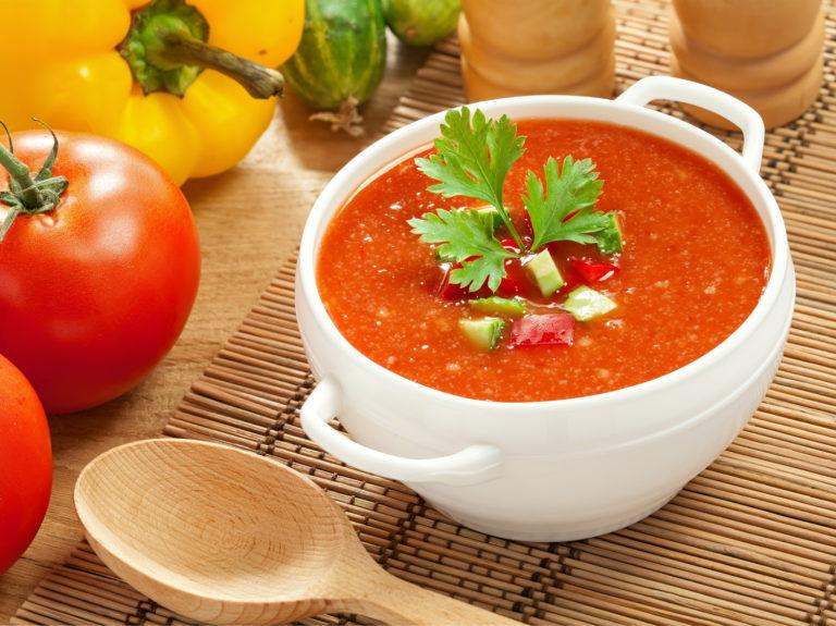 Суп гаспачо - рецепт в домашних условиях с фото пошагово
