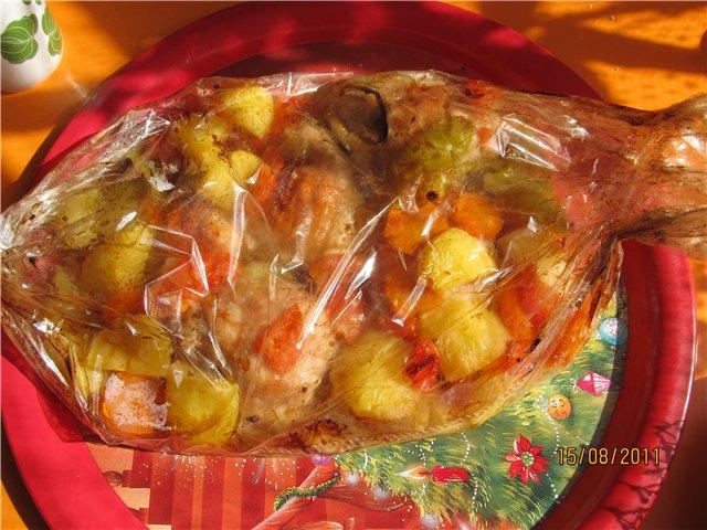 Картофель в духовке с мясом и луком — пошаговый рецепт с фото.