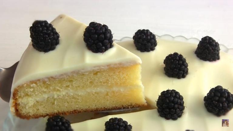 Сметанный пирог с ягодами: как пошагово приготовить. Рецепт с фото.