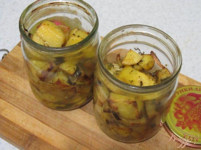 Запеченный картофель в банке + рецепт приготовления с мясом