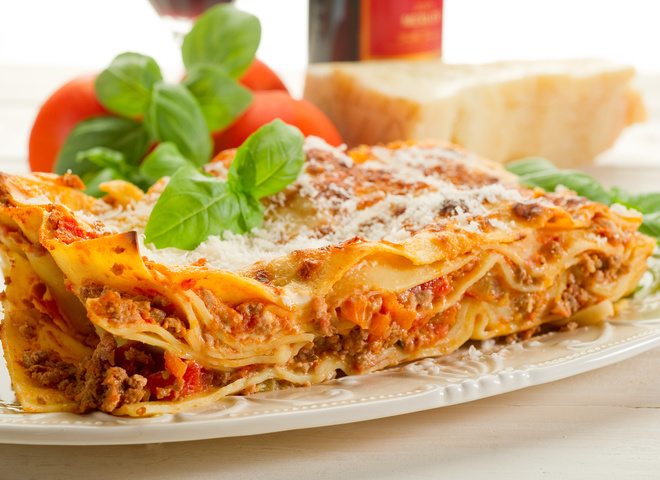 Лазанья с мясом – блюдо итальянской кухни, пошаговый рецепт с фото