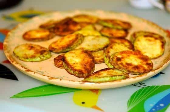 Жареные кабачки – пошаговый рецепт популярного блюда
