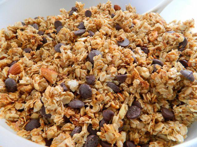 Домашняя гранола - вкусный и полезный завтрак, делаем по рецепту с фото