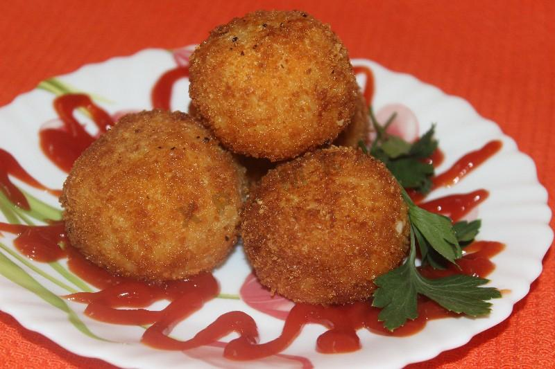 Аранчини – идеальный рецепт горячей закуски