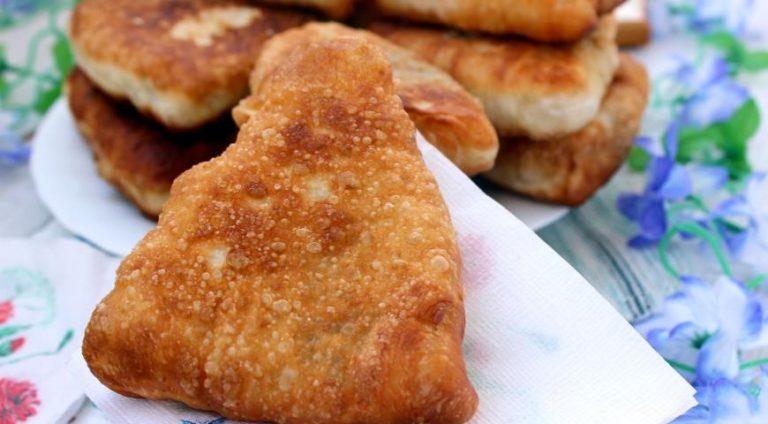 Сытные жареные пирожки с мясом: готовим по пошаговым фото