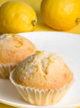 Вкусные лимонные кексы - пошаговый рецепт приготовления