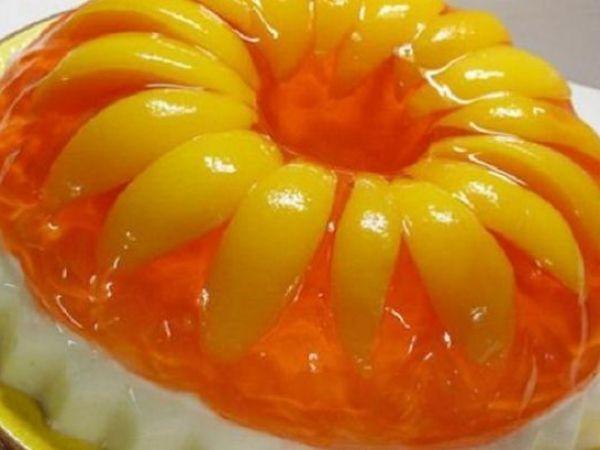 Невероятно нежный желейный торт с фруктами – легкий и простой рецепт без выпечки с фото