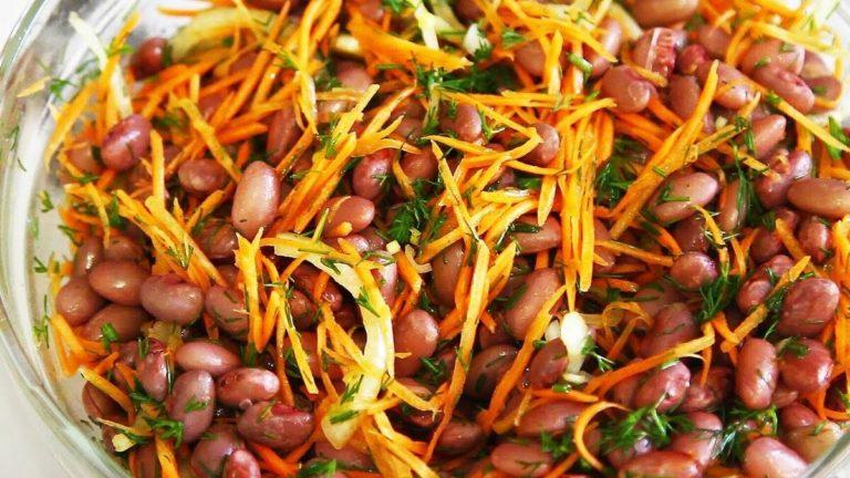 Фасоль в морковке готовим по рецепту