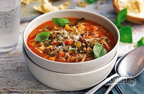 Итальянский суп Минестроне - рецепт блюда для всей семьи